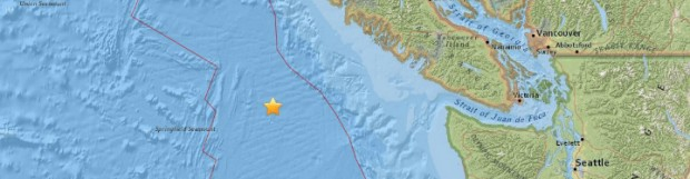 4.5-magnitude earthquake rattles Vancouver Island