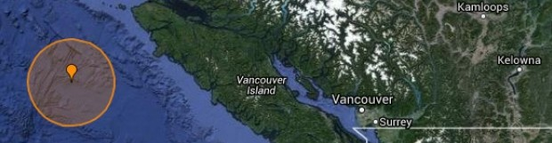 5.2 magnitude earthquake detected off Vancouver Island