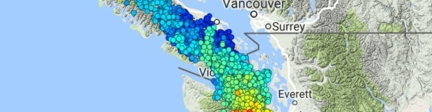Why the risk of the 'Big One' in B.C. is heightened every 14 months